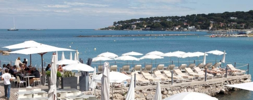 Antibes Beach Restaurants