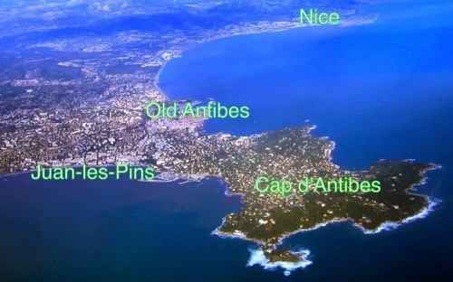 Cap d' Antibes:   The Epicenter of the Cote d'Azur